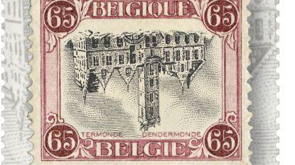 Bpost brengt 'Omgekeerde Dendermonde' weer uit: Alles wat u moet weten over de meest iconische postzegel uit de Belgische geschiedenis