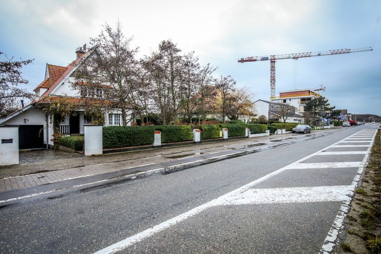 Deze villa's zullen verdwijnen voor een residentie met 26 appartementen.