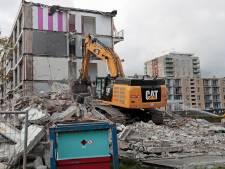 Sloop van flats in Spijkenisser wijk Sterrenkwartier begonnen