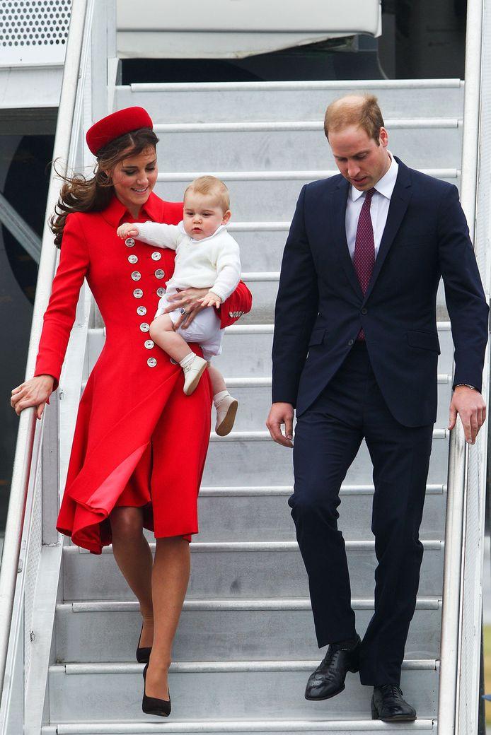 Het Britse koninklijke gezin, gezamenlijk op dienstreis.