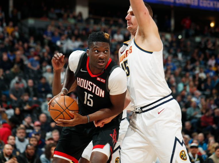Clint Capela (links).