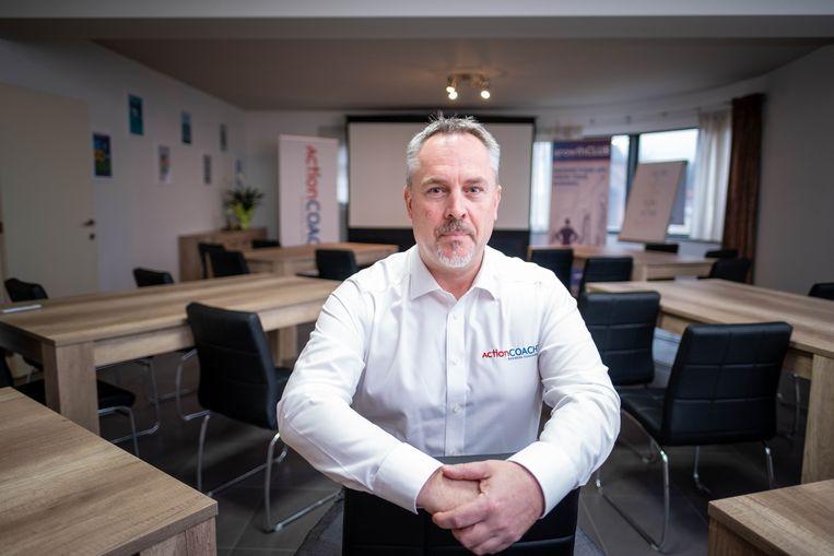 ActionCOACH Kurt Vervloet in zijn nieuwe kantoren