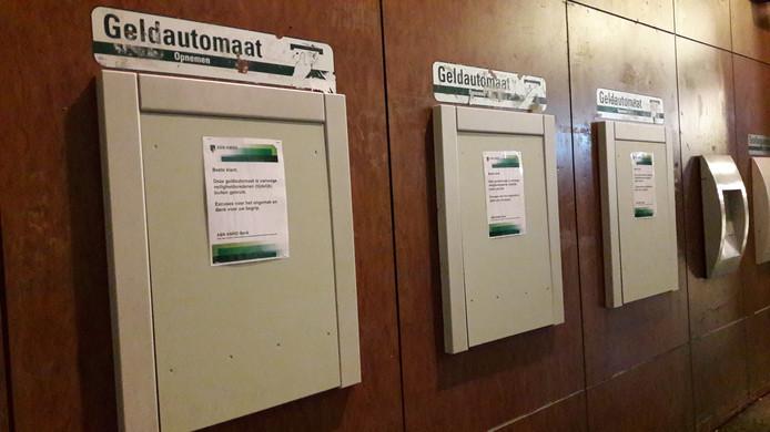 ABN-Amro stelt geldautomaten buiten gebruik vanwege het risico op plofkraken
