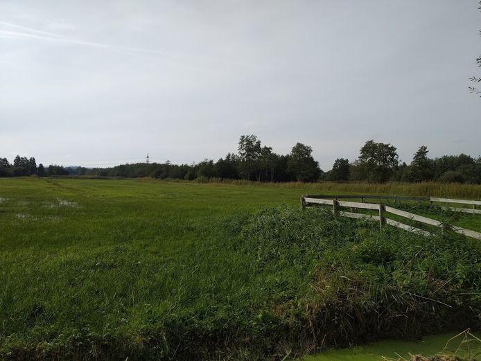 De Hel gezien vanaf de Grebbeweg.