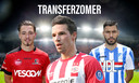 Joeri Poelmans (Helmond Sport), Nick Viergever (PSV), Karim Essikal (FC Eindhoven).