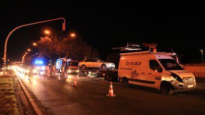 Veel hinder op Prins Alexanderlaan door kop-staartaanrijding aan verkeerslichten
