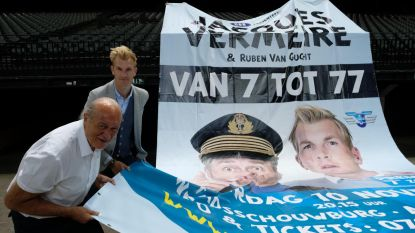 Jacques Vermeire en Ruben Van Gucht samen op de planken
