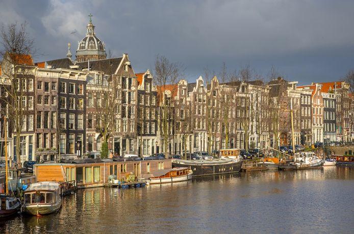 De Kromme Waal in Amsterdam Centrum.