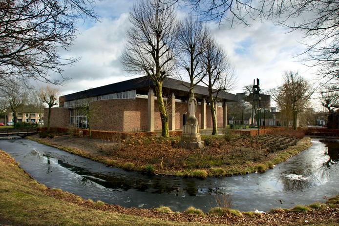 De kerk in Lieshout.