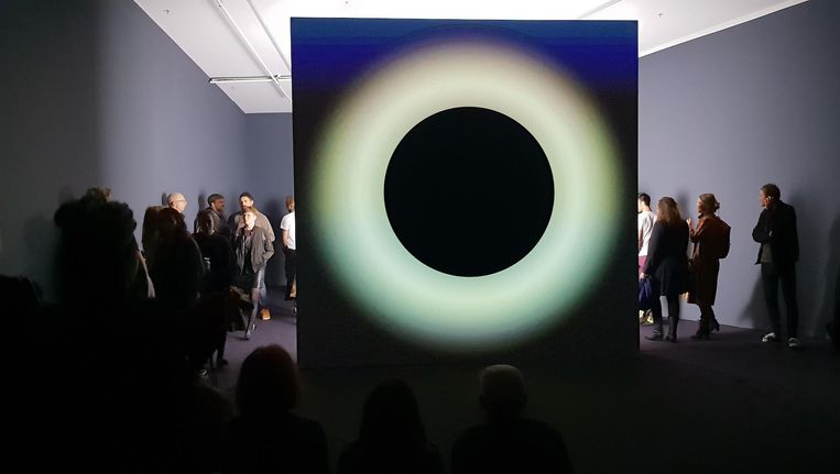 Ryoji Ikeda combineert zijn microsounds met datagedreven visuals Beeld Bart van der Ham