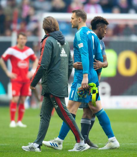 Geblesseerde Neuer verwacht nog in actie te komen voor Bayern