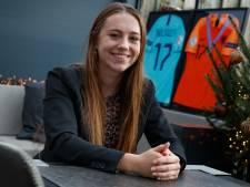 Jeugdinternational Zera Hulswit uit Stampersgat: 'Ooit wil ik het avontuur aangaan in het buitenland'
