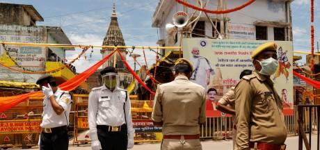 Indiase premier Modi lost belofte in: hindoes krijgen hun omstreden tempel