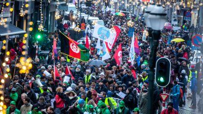 Tweeduizendtal mensen op straat in Brussel voor meer menselijke migratiepolitiek