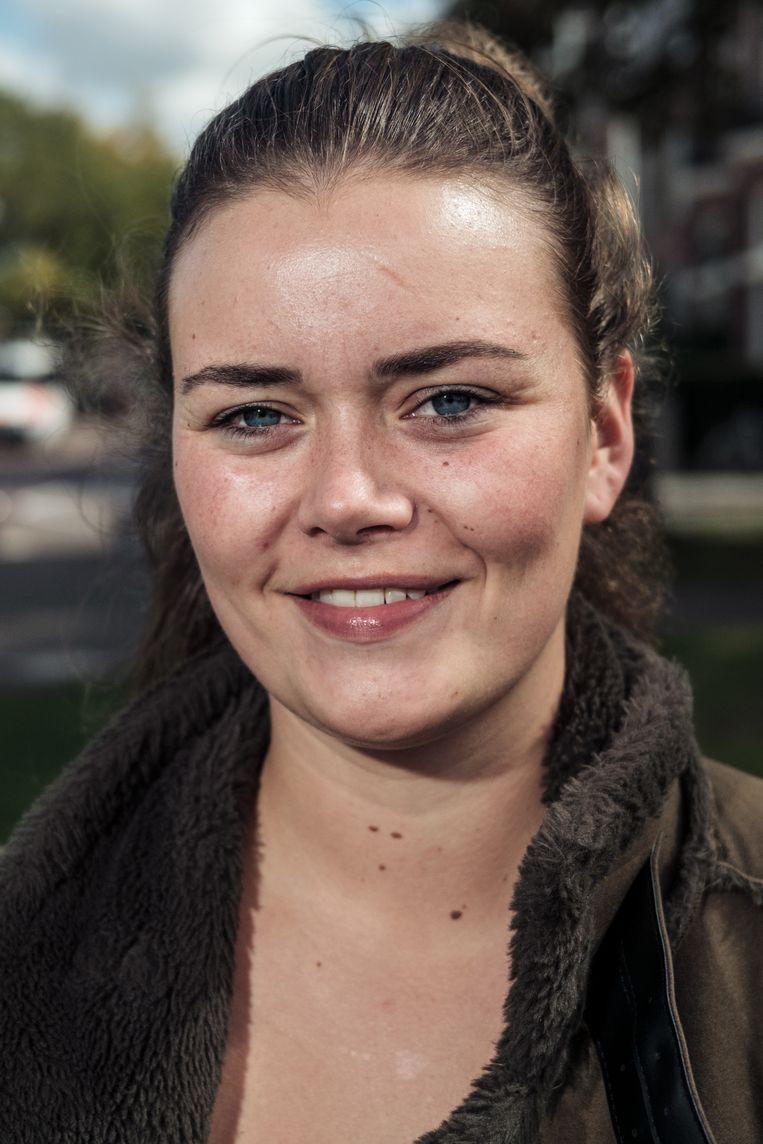 Mandy Poorter: 'Als de clubs niet opengaan en er geen festival meer doorgaat, vallen we om.' Beeld Jakob Van Vliet
