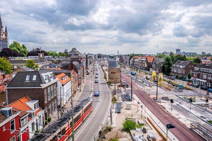 De Spoorzone in Delft.