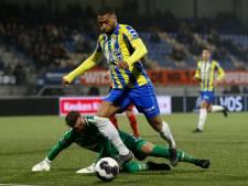 Mario Bilate redt zwalkend RKC in laatste minuut tegen Helmond Sport