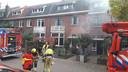 Brand aan de Vermeerstraat.