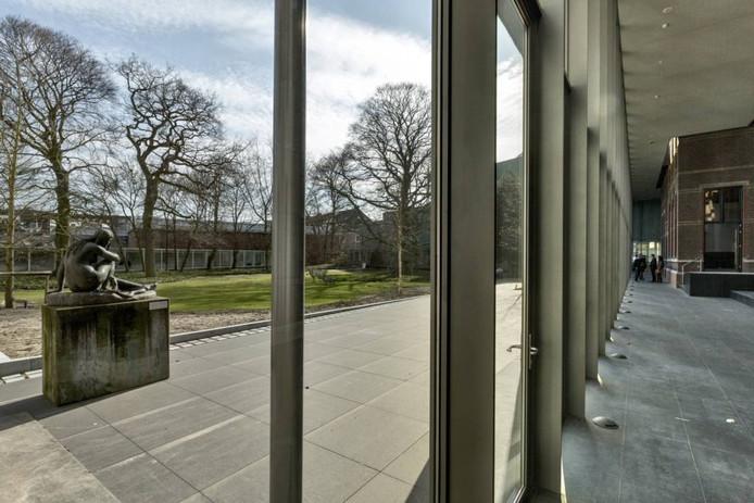 Blik op de museumtuin van het Museumkwartier.