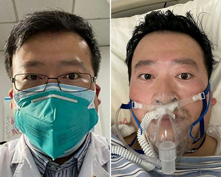 Li Wenliang raakte zelf besmet met het coronavirus en overleed.