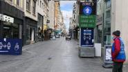 Rustige start in de Oostendse winkelstraten