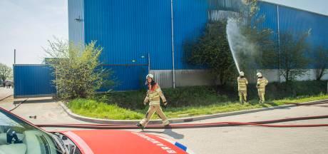 Brand in loods metaalverwerker in Wijk bij Duurstede