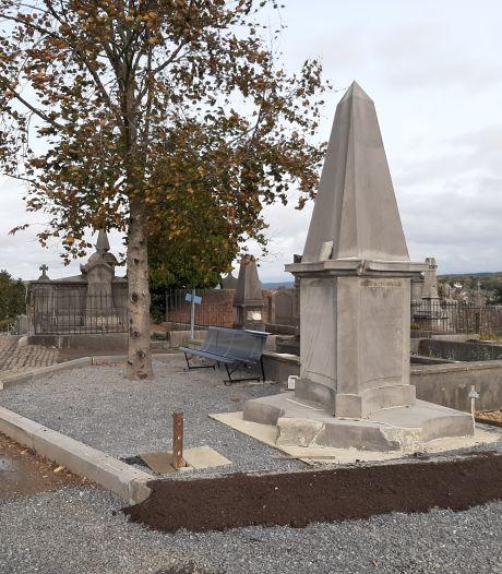 La première phase des travaux du cimetière de la Buissière est terminée