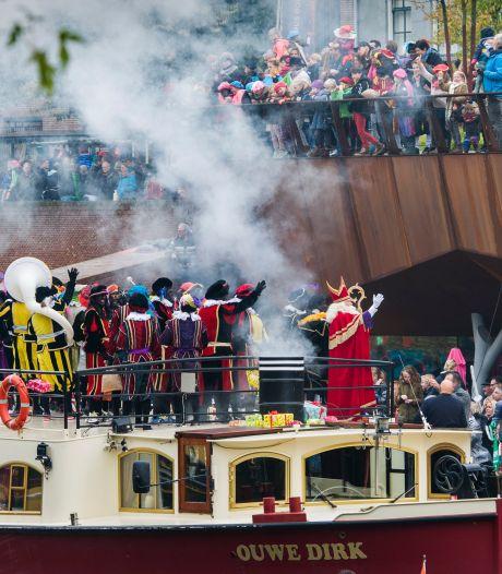 Pietenprotest bij intocht Sint Den Bosch is 'jammer': 'We hadden dit liever op ander moment gezien'