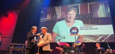 Weer een muziekprijs voor Edwin van Hoevelaak uit Holten, dé topproducer van het Nederlandse lied