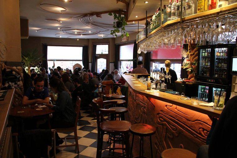Het event vindt plaats in café Belgaleiro.