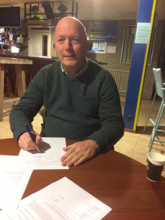 Pierre van Berkel wordt hoofdtrainer in Oisterwijk.