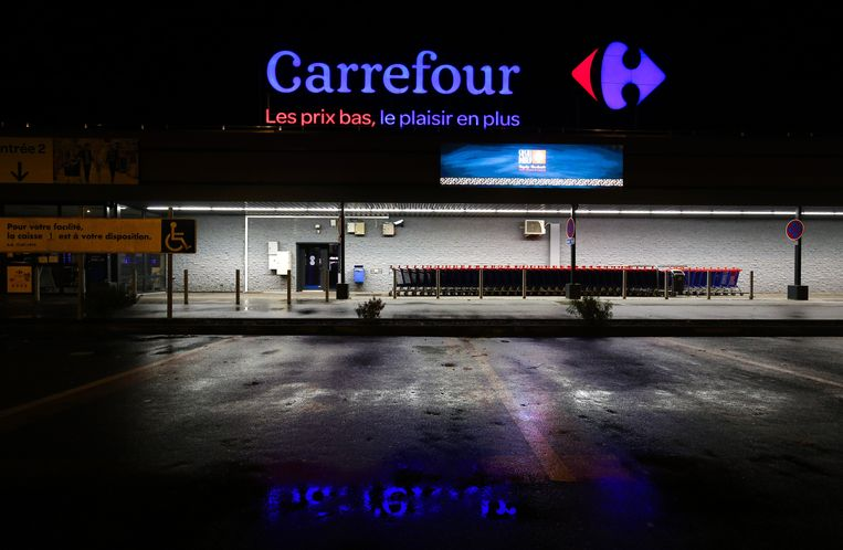 De deuren van Carrefour-hypermarkt in Bomerée blijven morgen gesloten.