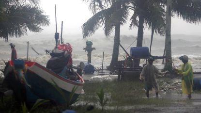 Tropische storm Pabuk boven Thailand eist leven, maar neemt in kracht af
