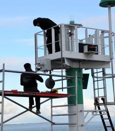 Vandalen weten zich voortaan bespied  bij scheepsspottersplek aan oude Veerhaven Terneuzen