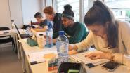 Blokkende student vindt studeerplekjes in bib