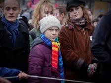 Plusieurs milliers de personnes ont marché à Bruxelles avec Greta Thunberg
