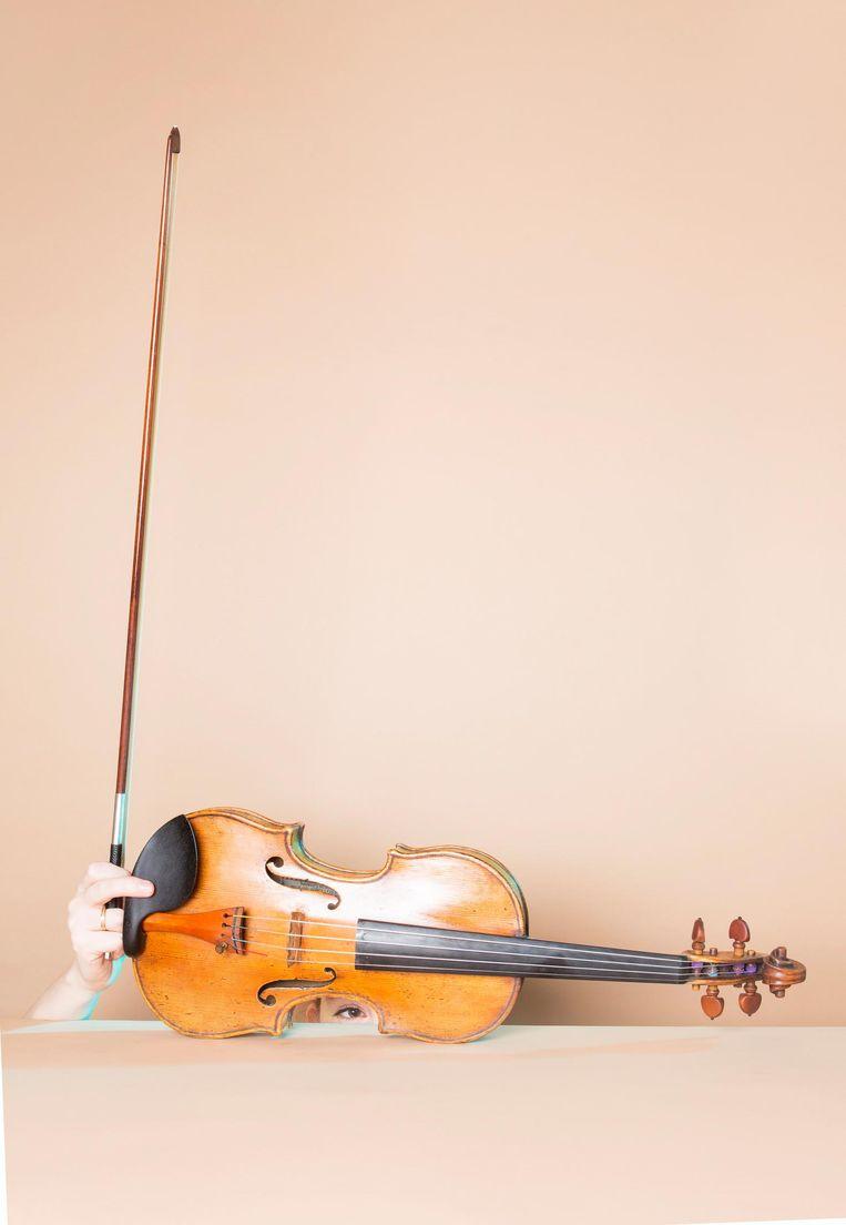 De viool van Maria Milstein Beeld Eva Roefs