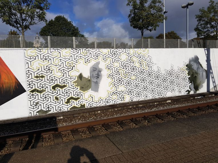 Halle - station graffitiproject
