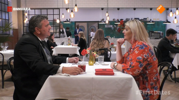 Mary-Ann Ferris uit Losser deed mee aan tv-programma First Dates. Butler Roderick bleek geen match.
