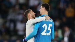 Eerste 'Koninklijke' prijs is binnen voor Courtois: Real wint WK voor clubs