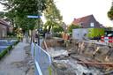 Schade door water in Hapert.