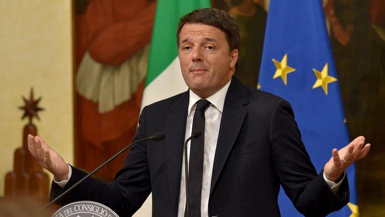 Belofte maakt schuld en in Italië geldt dit ook voor politici. Beeld afp