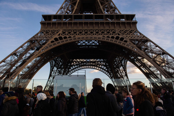 De Eiffeltoren blijft zaterdag dicht