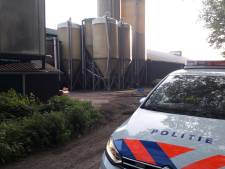 Bezette boerderij is van Van Sleuwen, één van de grootste varkensbedrijven van het land