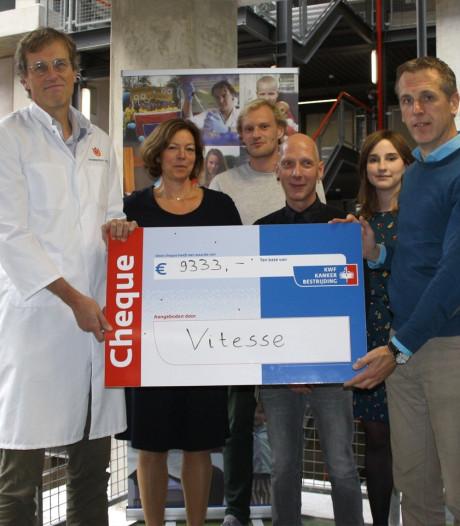 Aanhang Vitesse brengt recordbedrag bijeen voor kankerbestrijding