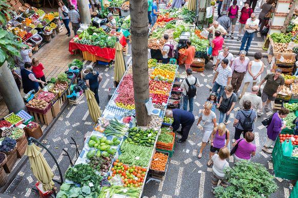Illustratiebeeld: een markt.