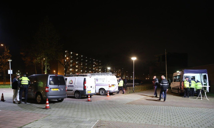 Handhavingsactie Lagelandstraat.