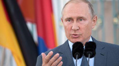 Poetin huldigt brug voor treinverkeer tussen de Krim en Rusland in
