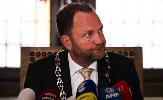 Burgemeester Milo Schoenmaker van Gouda