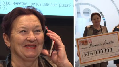 Gepensioneerde vrouw wint grootste lottojackpot in Russische geschiedenis